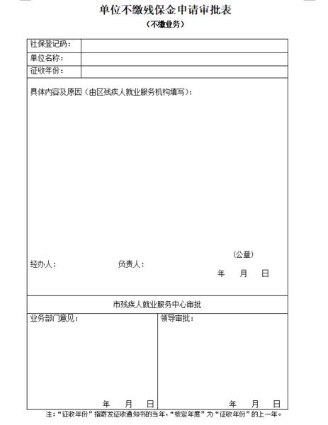 上海市残疾人就业保障金最新申报流程、残保金计算、残保金征缴、残保金缴纳地点大全插图(4)