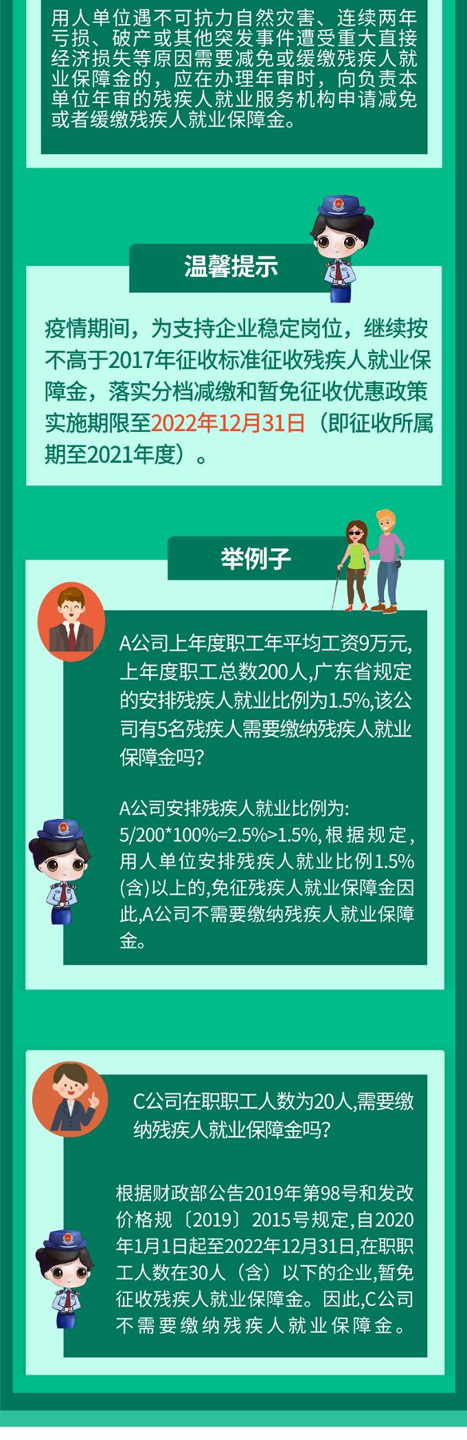 2020年广东税务发布关于残疾人就业保障金您知道多少?赶紧点进来了解一下吧!插图(2)