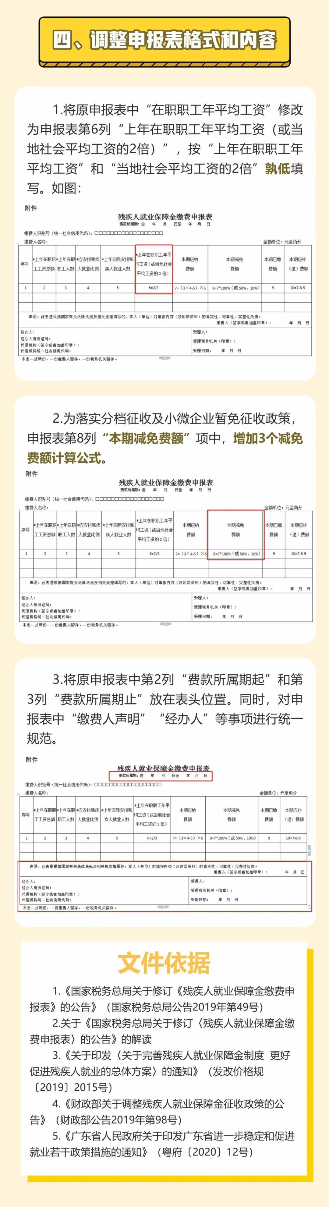 一图看懂2020年广东省残疾人就业保障金征收四大新变化插图(3)