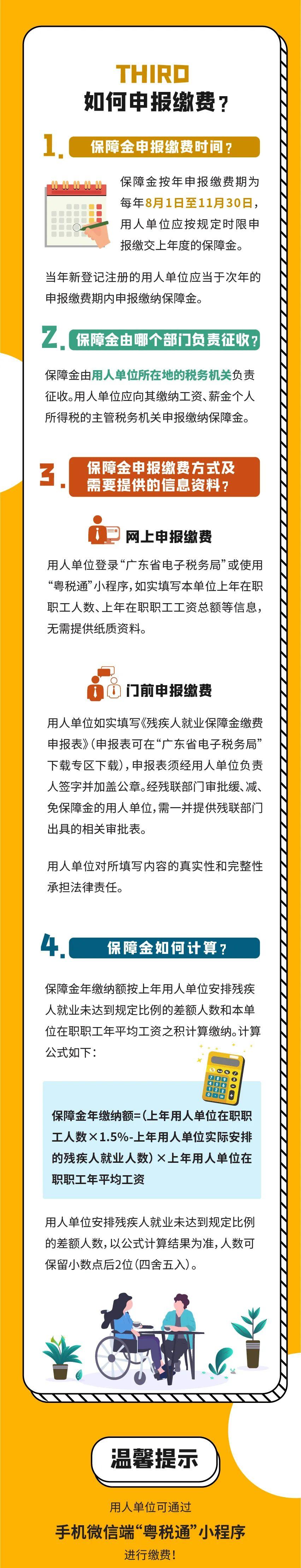 """【一图读懂】2020年广东企业残疾人就业保障金政策""""图""""个明白!插图(2)"""